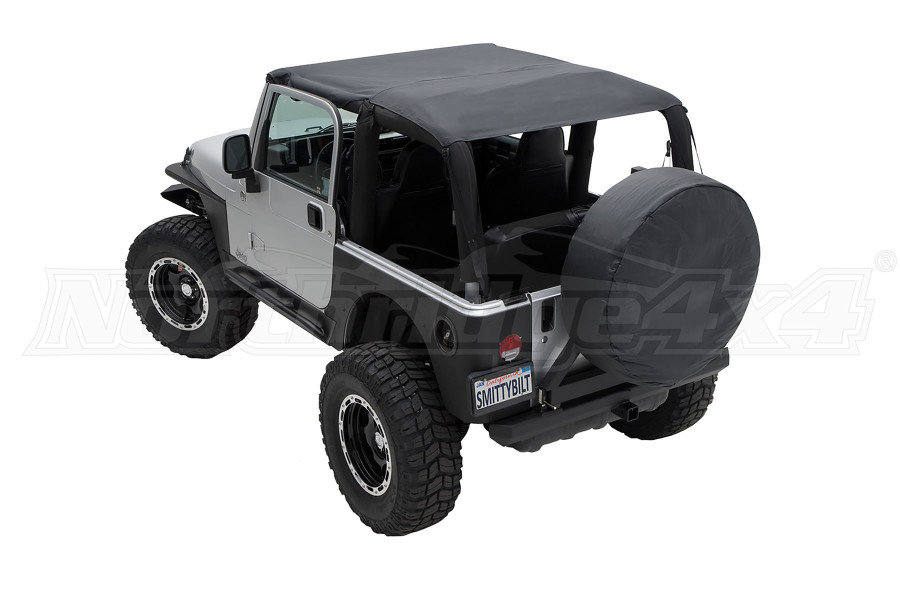 Smittybilt Extended Top Black Demin (Part Number:93615)