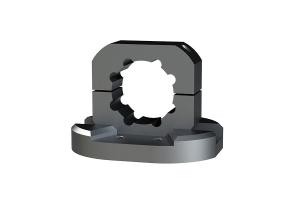 Blac-Rac 1.5in Tube Mount for ATV / UTV (Part Number: )