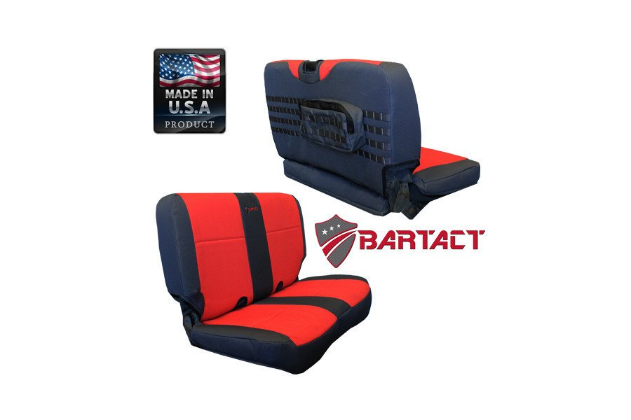 Bartact Rear Seat Cover (Part Number:TJSC0306RBB)