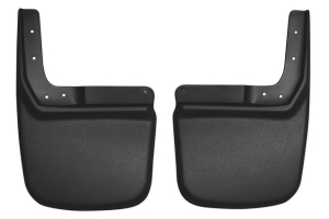 Husky Liners Rear Mud Guards Black - JK