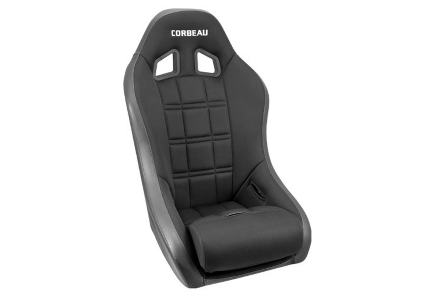 Corbeau Baja XP Black Vinyl / Cloth (Part Number:68802B)