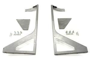 Poison Spyder DeFenders Negative Fenders Front Steel ( Part Number: 13-02-050)