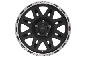 Pro Comp Series 7105 Wheel Cast Blast Finish 17x9 5x5 (Part Number: )