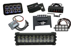 Warn WL LED Light with Switch Package ( Part Number:WARN-WL-SWITCH-PKG)