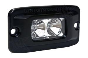 Rigid Industries SR-M Flush Mount Light Flood Amber (Part Number: )