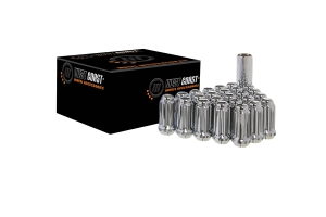 West Coast 6 LUG 1/2x20 Closed End Wheel Installation Kit, Chrome (Part Number: )
