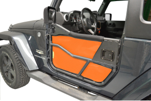 Dirty Dog 4x4 Bestop Tube Door Screen Orange (Part Number: )