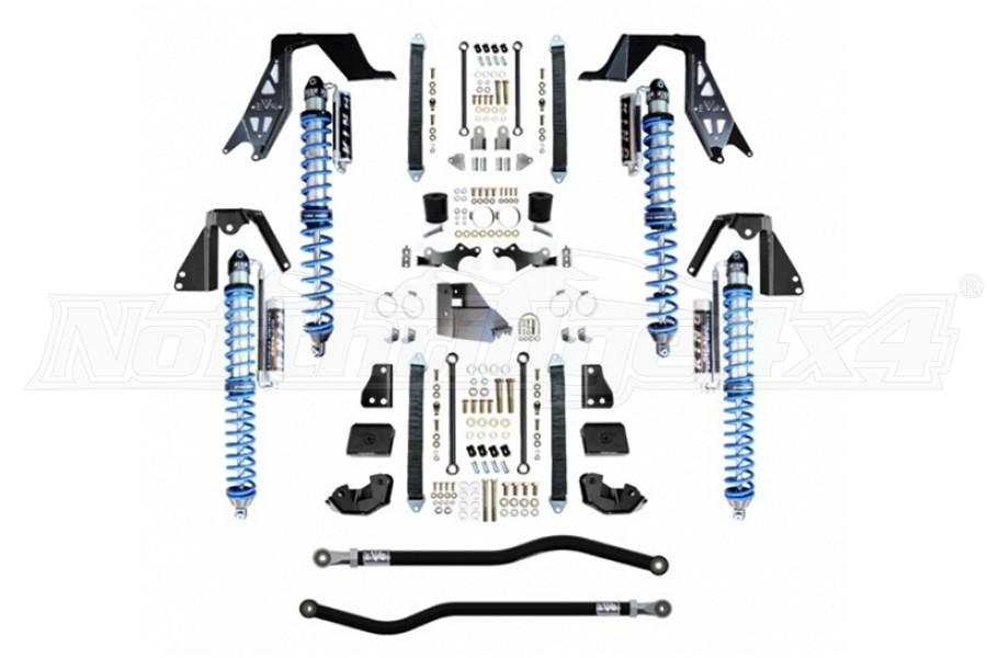 EVO Manufacturing Enforcer Pro NV2514 Stage 1 Plus Coilover Kit, Black - JL