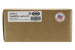 Off Road Only LiteDot LitePlate Single Lead
