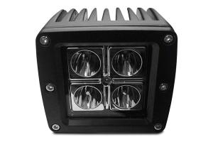 DV8 Offroad 3 in Chrome Series LED Cube Light - Spot/Flood Beam (Part Number: )