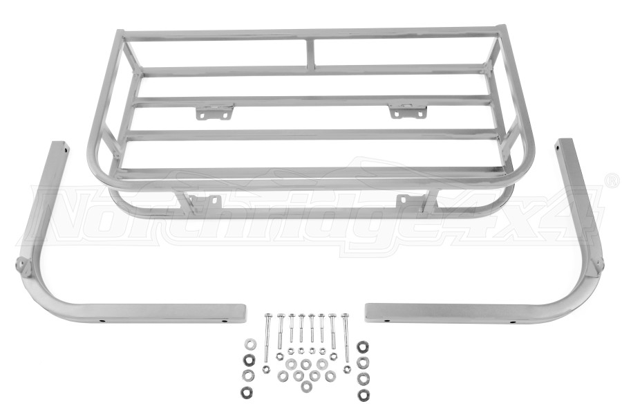 LOD Xpedition Series Trail Rack Bare Steel (Part Number:JTK9680)