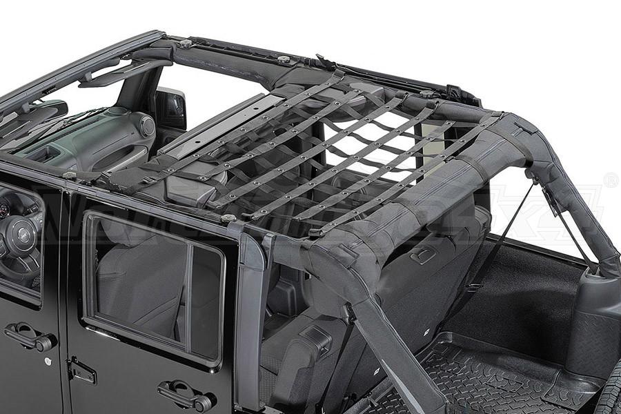 Dirty Dog 4x4 Rear Seat Netting Black (Part Number:J4NN07M1BK)