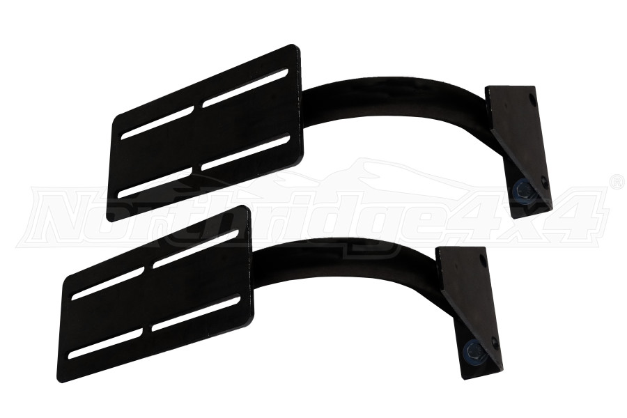 LOD Destroyer RotoPax 2 or 3 gallon Pair Side Mount Black Powder Coated (Part Number:JRP0721)