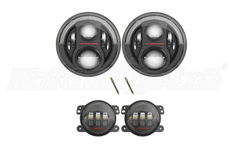 JW Speaker 8700 Evolution J2 Series Light Kit Package