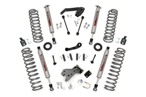 Rough Country 4-inch Suspension Lift System w/Performance 2.2 Shocks (Part Number: )