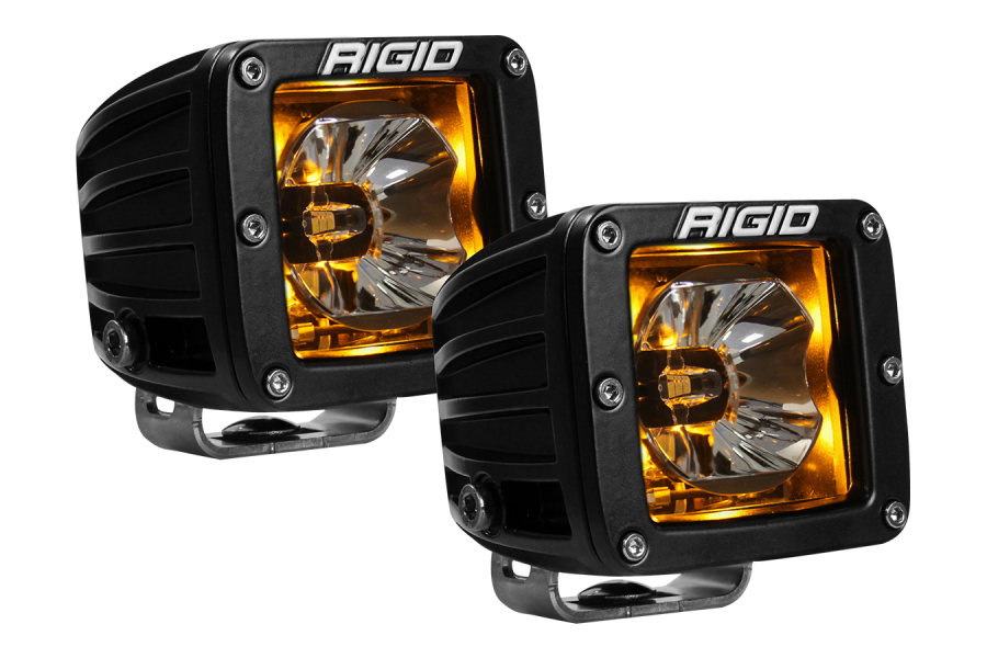 RIGID INDUSTRIES RADIANCE POD AMBER BACKLIT (Part Number:20204)
