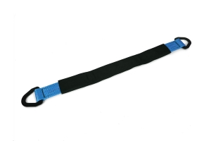 SpeedStrap 2in x 30in Axle Strap w/ D-Rings, Blue  - 10,000lb Max Capacity