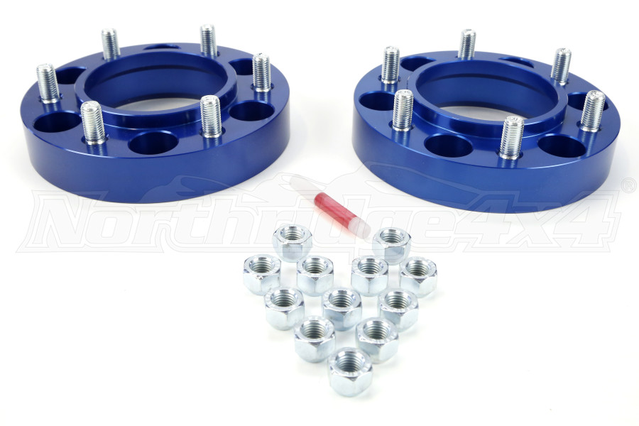 Spidertrax Wheel Spacer Kit 6x5.5 1.25in  (Part Number:WHS007)