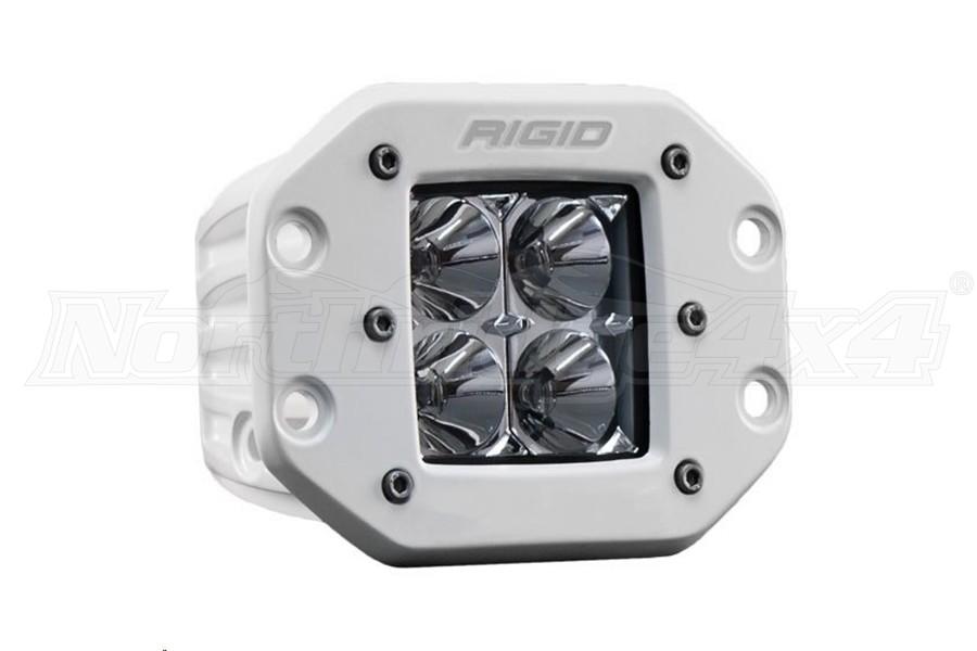Rigid Industries D-Series Pro Hybrid Flood Flush Mount  (Part Number:611113)