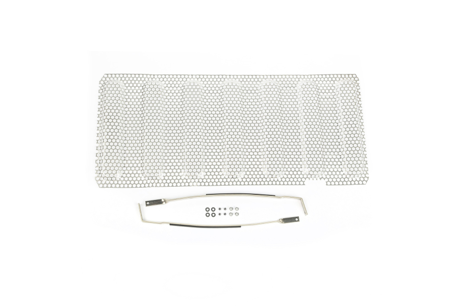 Rugged Ridge Grille Insert, Satin Stainless (Part Number:11401.22)