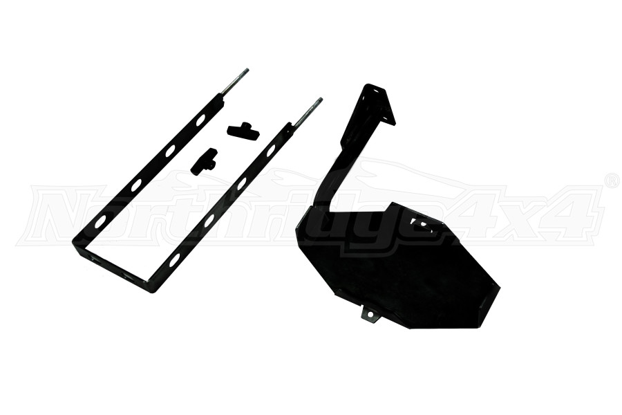LOD Destroyer 5 Gallon Jerry Can Mount / Passenger Side Black Powder Coated (Part Number:JJC0701)