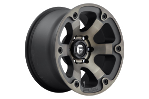 MHT Luxury Alloys Beast Series Wheel Black 17x9 5x5 (Part Number: )
