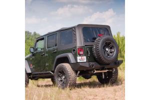Rugged Ridge XHD Soft Top, Spring Assist, Black Diamond (Part Number: )