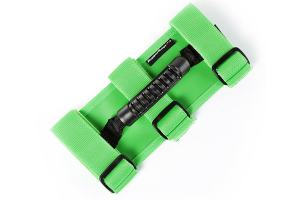 Rugged Ridge Ultimate Grab Handles, Green - JT/JL/JK/TJ/YJ/CJ