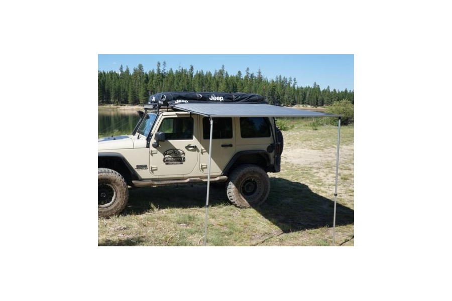 Freespirit Recreation Jeep Series 56in Vehicle Awning, Grey (Part Number:AWJS56303)