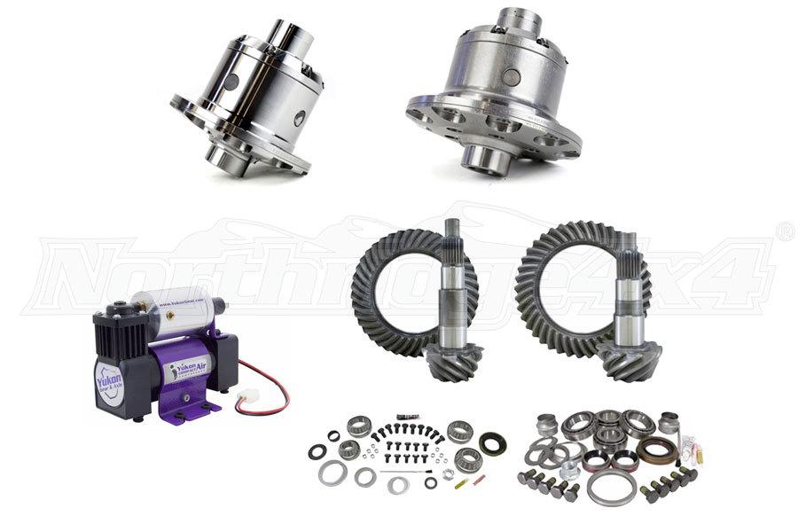 Yukon Zip Lockers, Compressor and Gear Kit - JK Non-Rubicon