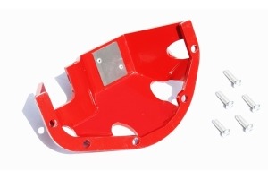 Rock Hard 4x4 D30 Front/Rear Hardhat Differential Cover - Red