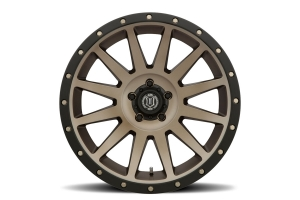 Icon Vehicle Dynamics Compression Wheel Bronze, 20x10 5x5 - JT/JL/JK
