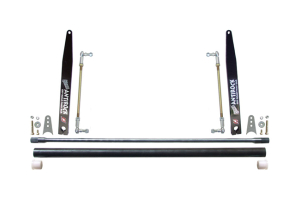 RockJock Universal AntiRock Thick Sway Bar Kit w/21in Steel Arms - JK 4dr