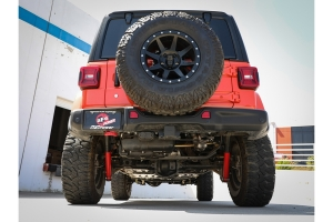 aFe Power Large Bore-HD 3in High Truck Exhaust System  - JL Diesel