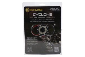 Jeep JK KC HiLites Under Hood Cyclone 2IN LED Light Kit - Jeep ...