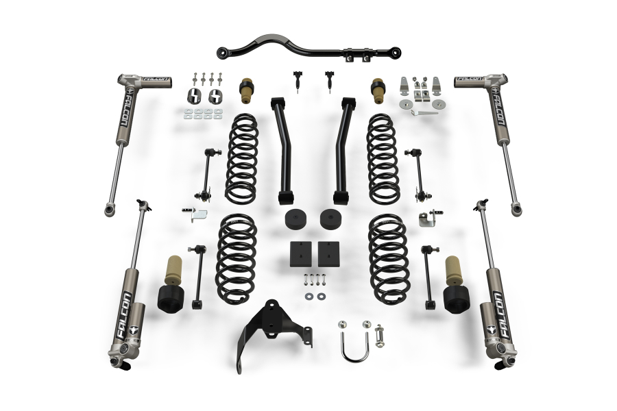 Teraflex 2.5in Sport ST2 Suspension System with 3.1 Falcon Shocks - JK 4Dr
