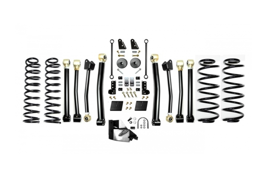 EVO Manufacturing 3.5in Enforcer Lift Kit w/Shock Extensions Stage 4 (Part Number:3013S4EXT)