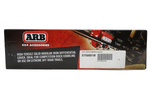 ARB Dana 60/70 Differential Cover Black