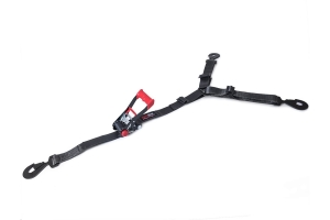 SpeedStrap 2in HD 3-Point Spare Tire Hold Down w/ Flat Snap Hooks