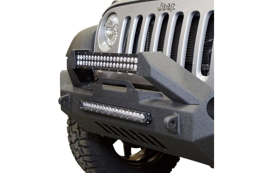 DV8 Offroad Hammer Mid Width Front Bumper (Part Number:FBSHTB-17)