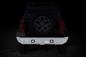 LOD Signature Series Rear Bumper w/Rigid Flush Light Provision  (Part Number: )