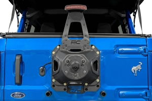 Rough Country Spare Tire Relocation Bracket - Ford Bronco