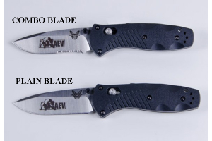 AEV Edition 585 Mini Barrage Plain Blade (Part Number: 70501102AA)
