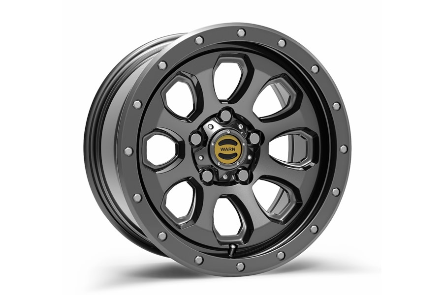 Warn Moonsault Wheel, 17x8.5, 5x5 - Gunmetal - JT/JL/JK