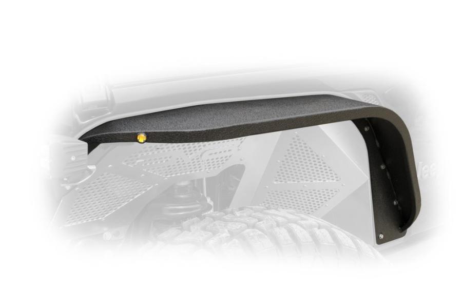 DV8 Slim Fenders w/ LED Turn Signal Lights  - JL