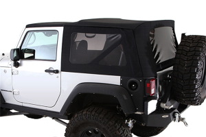 Smittybilt Replacement Soft Top w/Tinted Windows Black Diamond ( Part Number: 9075235)
