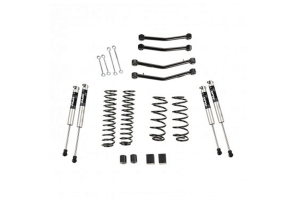 Rugged Ridge 4in Lift Kit w/ Fox Shocks And Control Arms - JL 4dr
