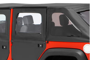 Bestop 2-Piece Rear Doors in Black Diamond ( Part Number: 51799-35)