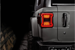 Oracle Black Series LED Tail Lights - JL w/out Factory LED
