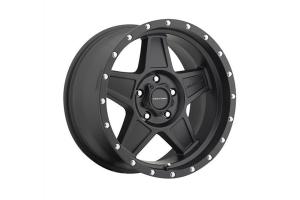 Pro Comp Xtreme Alloys Series 5035 Predator Satin Black Wheels 18x9 5x5 - JK/JL